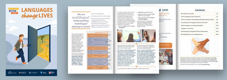 Languages Change Lives booklet